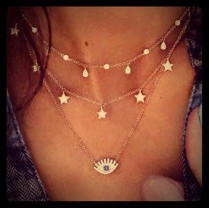Jewelry - 🔥🔥BOHO EVIL EYE CHOKER🔥🔥